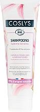 Voňavky, Parfémy, kozmetika Šampón s organickou ľaliou a keratínom pre nezbedné a oslabené vlasy - Coslys