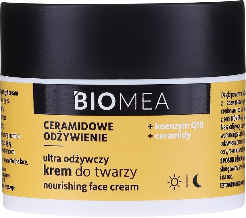 Denný a nočný výživný krém na tvár s koenzýmom Q10 - Farmona Biomea Nourishing Face Cream