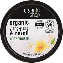"""Voňavky, Parfémy, kozmetika Telová pena """"Balijský kvet"""" - Organic Shop Organic Ylang-Ylang & Neroli Body Mousse"""