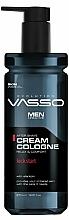Voňavky, Parfémy, kozmetika Krémová kolínska voda po holení - Vasso Professional Men After Shave Cream Cologne Kick Start