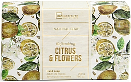 Voňavky, Parfémy, kozmetika Mydlo - IDC Institute Refreshing Hand Natural Soap Citrus & Flowers
