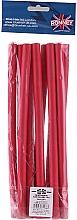 Voňavky, Parfémy, kozmetika Profesionálne pružné natáčky na vlasy 12/240, červené - Ronney Professional Flex Rollers