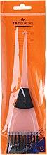 Voňavky, Parfémy, kozmetika Kefa na farbenie vlasov, 65002, bielo- čierna - Top Choice
