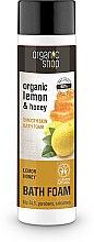 """Voňavky, Parfémy, kozmetika Pena do kúpeľa """"Hladkosť pleti. Lemonová manuka"""" - Organic Shop Organic Lemon and Manuka Golden Bath Foam"""