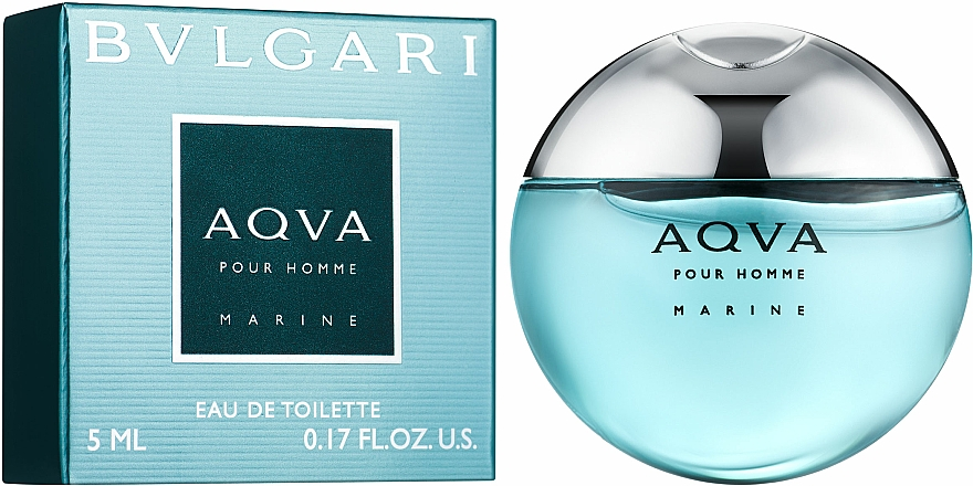 Bvlgari Aqva Pour Homme Marine - Toaletná voda (mini) — Obrázky N1