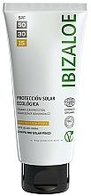 Voňavky, Parfémy, kozmetika Opaľovací krém - Ibizaloe Organic Sun Protection SPF 15