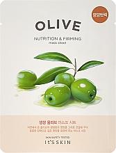 Voňavky, Parfémy, kozmetika Látková maska na tvár - It's Skin The Fresh Olive Mask Sheet