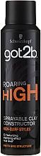 Voňavky, Parfémy, kozmetika Modelujúca hlina v spreje na vlasy - Schwarzkopf Got2b Roaring High Sprayable Clay Constructor