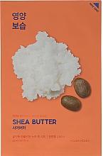 Voňavky, Parfémy, kozmetika Výživná textilná maska z bambuckého masla - Holika Holika Pure Essence Mask Sheet Shea Butter
