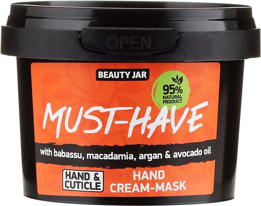 Krémová maska na ruky - Beauty Jar Must-Have Hand Cream-Mask