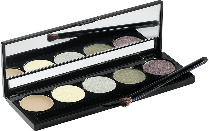 Paleta očných tieňov, 5 farieb - Peggy Sage Eye Shadows Palette Harmonie
