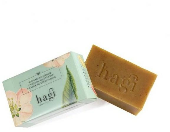 Prírodné mydlo s múškatným orechom - Hagi Soap
