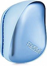 Voňavky, Parfémy, kozmetika Kompaktná kefa na vlasy - Tangle Teezer Compact Styler Sky Blue Delight Chrome