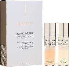 Voňavky, Parfémy, kozmetika Ošetrenie proti pigmentovým škvrnám - Guerlain Blanc De Perle Whitening Day & Night Treatment