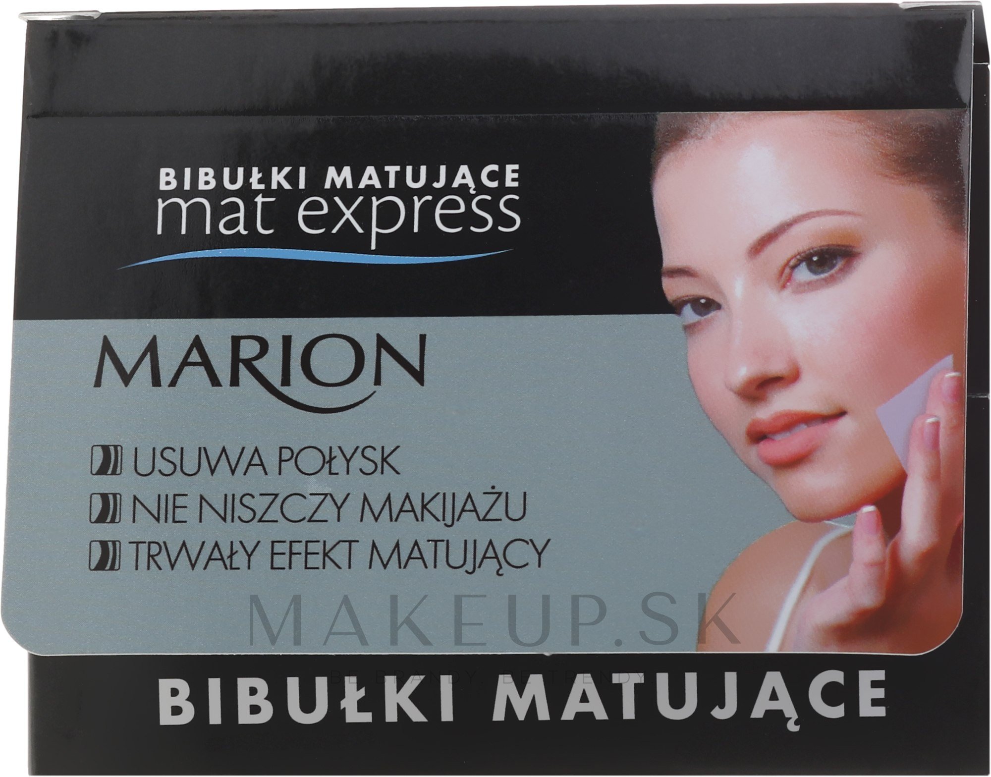 Sada matujúcich tkanív tváre, 4ks + 1 - Marion Mat Express — Obrázky 5 ks.