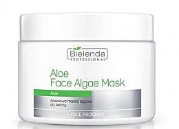 Voňavky, Parfémy, kozmetika Alginátová maska na tvár s aloe - Bielenda Professional Face Algae Mask with Aloe