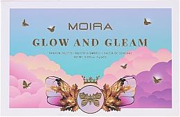 Voňavky, Parfémy, kozmetika Paleta očných tieňov  - Moira Glow And Gleam Shadow Palette