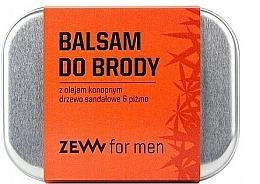 Voňavky, Parfémy, kozmetika Balzam na bradu s konopným olejom - Zew Beard Balm