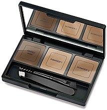 Voňavky, Parfémy, kozmetika Súprava na korekciu obočia - Golden Rose Eyebrow Styling Kit