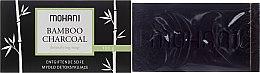 Voňavky, Parfémy, kozmetika Mydlo s bambusovými uhlím - Mohani Bamboo Charcoal Detoxifying Soap