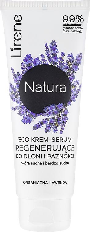 """Krém na ruky """"Levanduľa"""" - Lirene Natura Eco — Obrázky N1"""