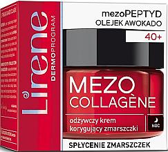 Voňavky, Parfémy, kozmetika Nočný krém na tvár proti vráskam - Lirene Mezo Collagene
