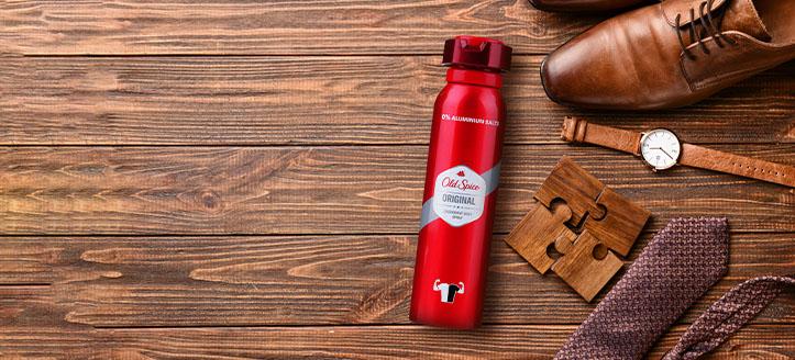 Získaj dezodorant ako darček pri nákupe produktov Old Spice v hodnote vyše 9 €