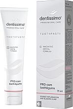 """Voňavky, Parfémy, kozmetika Zubná pasta """"Ochrana zubov a ďasien"""" - Dentissimo Pro-Care Teeth&Gums"""