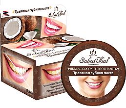 Voňavky, Parfémy, kozmetika Zubná pasta s kokosom - Sabai Thai Herbal Coconut Toothpaste