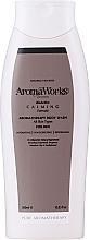 """Voňavky, Parfémy, kozmetika Telový gél pre mužov """"Upokojujúci"""" - AromaWorks Men's Calming Body Wash"""