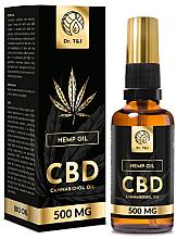 Voňavky, Parfémy, kozmetika Prírodný konopný olej Bio CBD 500mg - Dr. T&J Bio Oil