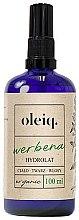 Voňavky, Parfémy, kozmetika Hydrolát z verbeny na tvár, telo a vlasy - Oleiq Verbena Hydrolat