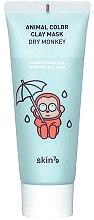 Voňavky, Parfémy, kozmetika Hydratačná hlinená maska - Skin79 Animal Color Clay Mask Dry Monkey