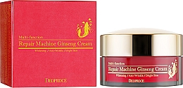 Voňavky, Parfémy, kozmetika Krém na tvár so ženšenom - Deoproce Repair Machine Ginseng Cream