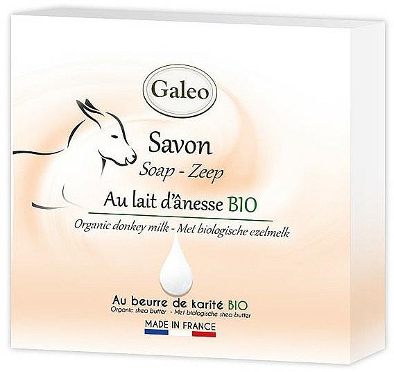 Mydlo s oslím mliekom - Galeo Soap Organic Donkey Milk — Obrázky N1