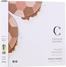 """Voňavky, Parfémy, kozmetika Púder na tvár """"Mozaika"""" - Couleur Caramel Mosaic Powder"""
