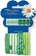 Voňavky, Parfémy, kozmetika Sada štipcov a gumičiek na vlasy 28144 , 6+12 ks - Top Choice