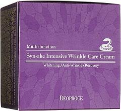 Voňavky, Parfémy, kozmetika Krém na tvár s hadím jedom - Deoproce Syn-Ake Intensive Wrinkle Care Cream