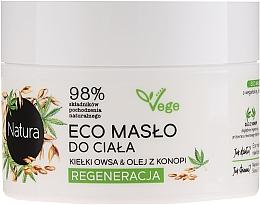 """Voňavky, Parfémy, kozmetika Regeneračné maslo na telo """"Ovsené klíčky a konopný olej"""" - Lirene Natura Eco Oil"""