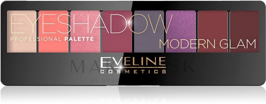 Paleta tieňov na viečka - Eveline Cosmetics Eyeshadow — Obrázky Modern Glam