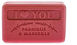"""Voňavky, Parfémy, kozmetika Marseillské mydlo """"Milujem ťa"""" - Foufour Savonnette Marseillaise I Love You"""
