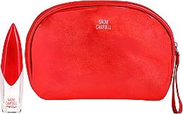 Voňavky, Parfémy, kozmetika Naomi Campbell Glam Rouge - Sada (edt/15ml + bag)