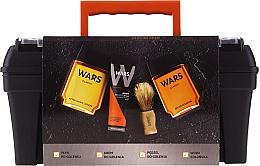 Voňavky, Parfémy, kozmetika Sada - Wars (ash/lot/90ml + sh/cr/65ml + edc/90ml + sh/brush + case)