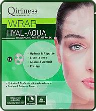 Voňavky, Parfémy, kozmetika Hyaluronová hydratačná a omladzujúca látková maska - Qiriness Wrap Hyal-Aqua Hyaluronic Moisture Mask
