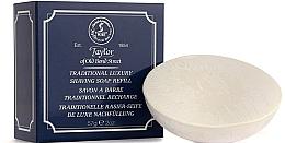 Voňavky, Parfémy, kozmetika Tradičné mydlo na holenie - Taylor Of Old Bond Street Traditional Luxury Shaving Soap Refill