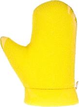 """Voňavky, Parfémy, kozmetika Masážna rukavica """"Aqua"""", 6021, žltá  - Donegal Aqua Massage Glove"""