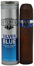 Voňavky, Parfémy, kozmetika Cuba Silver Blue - Toaletná voda