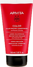 Voňavky, Parfémy, kozmetika Kondicionér na ochranu farby farbených vlasov s medom a slnečnicami - Apivita Color Protect Conditioner With Sunflower & Honey