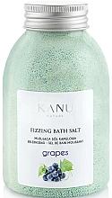 """Voňavky, Parfémy, kozmetika Šumivá soľ do kúpeľa """"Hrozno"""" - Kanu Nature Grapes Fizzing Bath Salt"""