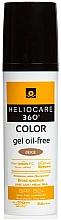 Voňavky, Parfémy, kozmetika Gél na opaľovanie na vodnej báze - Cantabria Labs Heliocare 360 Gel Oil Free Color